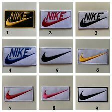 Sports badges logo Beautiful- NIKE Embroidered sew on iron on Patch