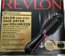 Revlon PRO Collection Salon One Step Hair Dryer and Volumizer Brush - New