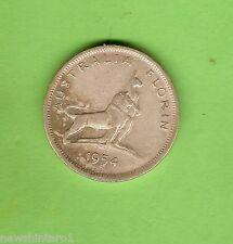 #D96. 1954  AUSTRALIAN PARLIAMENT HOUSE FLORIN TWO SHILLING  COIN
