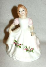 "Royal Doulton Figure Of The Month ""December"" 5"" Figurine #Hn3329 - Euc"