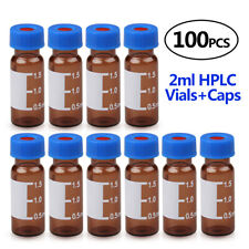 2ml 9 425 Glass Containersr Amber Glass Vials 9mm Screw Thread Vial For Agilent