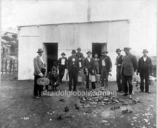 "Photo 1900 Sydney Australia ""Ratcatchers - Bubonic Plague"""