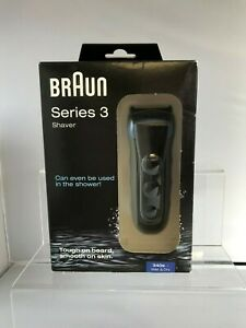 Braun Series 3 Mens Wet & Dry Cordless Electric Shaver With LED Display 281747