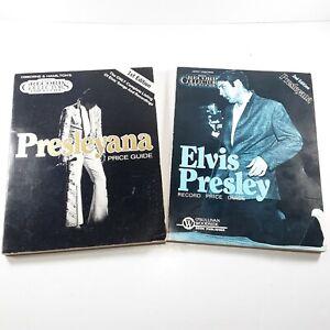 Elvis Presley Price Guide Original Record Collectors Price Guide Lot of 2 Books