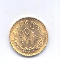 GOLD/ORO - MESSICO DUE PESOS D'ORO - 1945  - OCCASIONE - INVESTIMENTO IN ORO