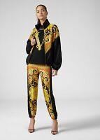 VERSACE 1075$ Savage Barocco Print Silk Casual Jogger Pants
