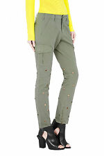 $350 SASS & BIDE The Full Tilt SKINNY CARGO Pants Army Green ( 26 ) FREE SHIP
