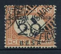 Somalia 1923 Sass. 38 Usato 100% Segnatasse,  BESA, 20 b.
