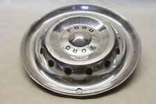 """Original 1950 Ford Car Accessory Deluxe Hubcap Wheel Cover 15"""" OEM FoMoCo"""