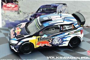 Model Car VW Polo WRC Monte Carlo IXO Scale 1/43 diecast Rally collection