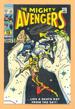 THE MIGHTY AVENGERS #64 MARVEL COMICS SILVER AGE FN RARE L@@K