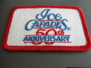 "Ice Capades ""50th Anniversary"" Cloth Patch"