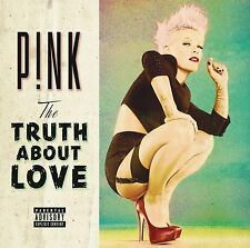PINK CD - THE TRUTH ABOUT LOVE [EXPLICIT](2012) - NEW UNOPENED - ROCK POP