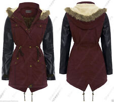 Button Faux Leather Casual Coats & Jackets for Women