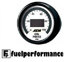 AEM DIGITAL OIL / FUEL PRESSURE Gauge 0-100PSI 30-4401