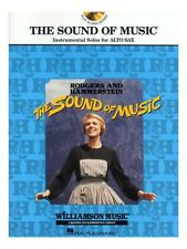 The Sound Of Music Instrumental Solos Alto Saxophone Movie Songs SAX MUSIC BOOK