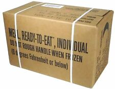 Meal Ready To Eat MRE Military Full Case A 2018 Insp Date 2018