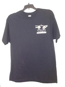 St Louis Helicopter Graphic T-shirt Men's Large Black