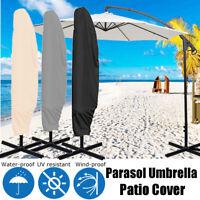 Garden Patio Parasol Banana Umbrella Cover Bag Outdoor Garden Shield