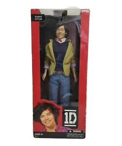 HARRY STYLES ONE DIRECTION 1D Collector Doll 2012 HASBRO New Damaged Box