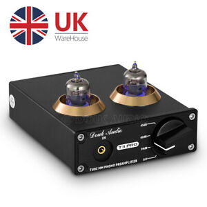 Valve Tube Phono Preamp Stereo Turntable RCA PreAmplifier to Line Level Amp RIAA