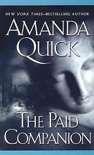 The Paid Companion Amanda Quick ~ Hardcover ~ Romance Novel ~ Mystery