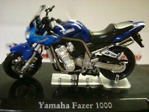Top - Yamaha Fazer 1000 - Blue - Top Model 1:24