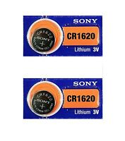 2 New Sony Replacement CR1620 Battery Blister Pack for Subaru Remote Head Key