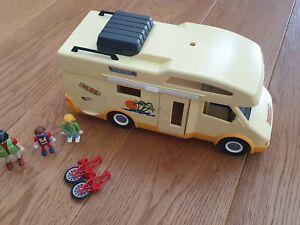 Playmobil Camper / Wohnmobil mit nicht ganz vollständigem Zubehör ovp
