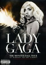 Lady Gaga: The Monster Ball Tour at Madison S (2011, DVD NUOVO) Expl (REGIONE 0)