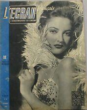 L'Ecran français n°39  - 1946 - Martha Vickers - Le cinéma en relief -