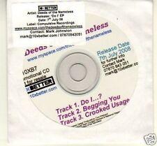(B370) Deeds of the Nameless, Do I EP - DJ CD