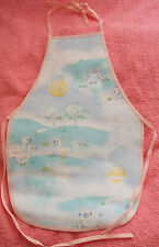New Children's waterproof apron with chicks, rabbits, ducklings, lambs, age 1-4