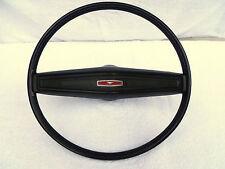 1970 Mustang, 70 Boss 302 Standard Black Interior Steering Wheel 1971-1972-1973