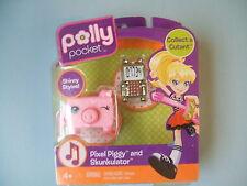 Polly Pocket Cutant PIXEL PIGGY and SKUNKALATER by Mattel NIB CUTE!