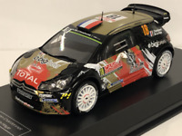 2013 Citroen DS3 WRC No18. S.Chardonnet T. De La Haye Monte Carlo 1:43 Scale