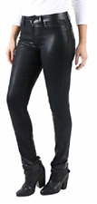 Level 99 Women's Forever Black Collection Mid Rise Coated SKINNY Jeans 2 X 26