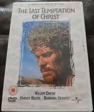 The Last Temptation Of Christ (DVD, 2011) Willem Dafoe, Harvey Keitel. Scorsese.