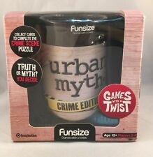 Urban Myth Crime Edition Fun Size Game Never Used Just Opened