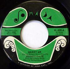 JOHNNY DAYE 45 Marry Me / Give Me Back My Ring JOMADA soul VG+ jr1148