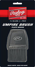 BASEBALL UMPIRE BRUSH ~ Rawlings Nylon Bristle Home Plate Cleaner ~ Brand New!