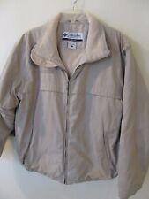 Columbia Mens Size L Insulated Winter / Fall Jacket Coat Tan