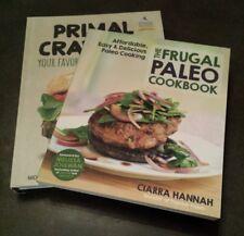 The Frugal Paleo Cookbook & Primal Cravings 2 Book Lot