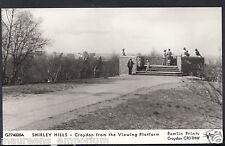 Surrey Postcard - Shirley Hills - Croydon Viewing Platform - Pamlin Print DP574