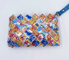 Ollin Arm Candy Airheads Small Clutch Wallet Purse, Novelty, Recycled Materials