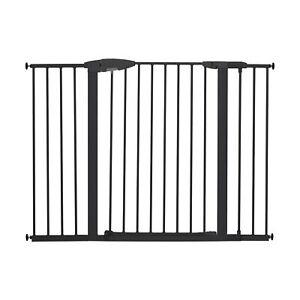 "Munchkin Easy Close XL Metal Baby Gate, 29.5"" - 51.6"" Wide, Black, Model MK00..."
