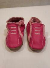 ROBEEZ Mini Shoez LEATHER Soft sole shoes EUC 3-6 months size 2