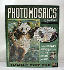 PANDA Photomosaics by Robert Silvers 1000 Piece Puzzle - Complete