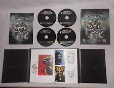 Coffret Dark Age of Camelot jeux PC 4 disques + notices