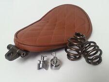 Solo Kit Completo De Asiento Muelles & Soporte Harley Chopper Bobber tan resistente